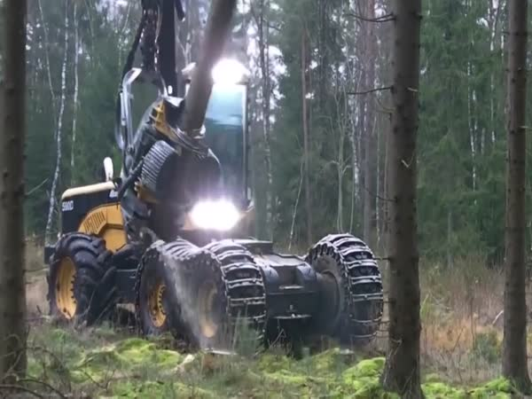 Behold The Giant Roboti4c Arm That Slices Through Trees In Seconds