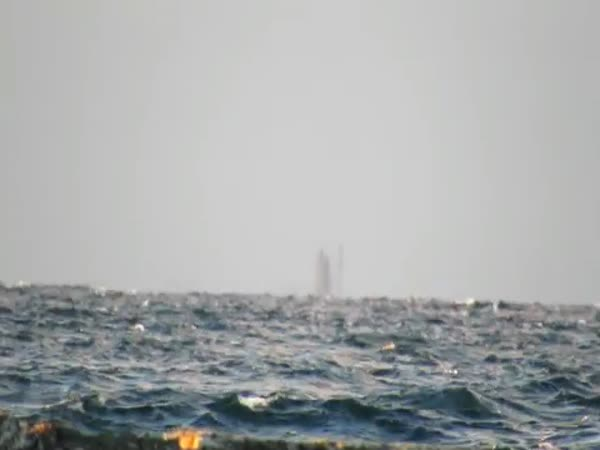 A Ghost Ship Appears On Lake Superior
