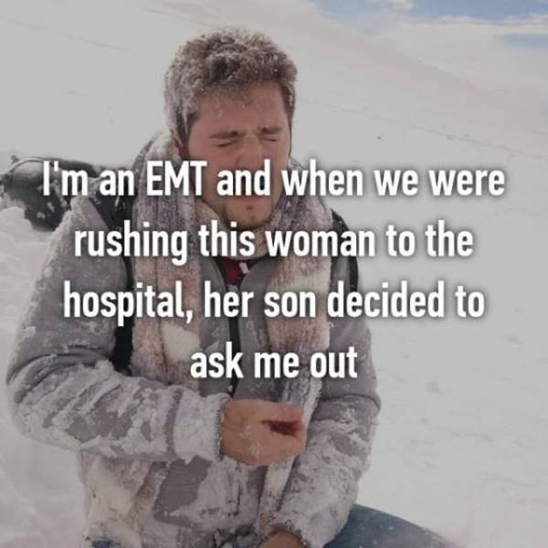 Firefighters And EMTs Confess Things They Normally Keep To Themselves (27 pics)