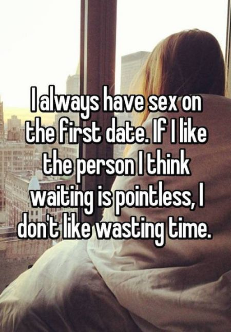 Women Reveal Their Reasons For Having Sex On The First Date (13 pics)
