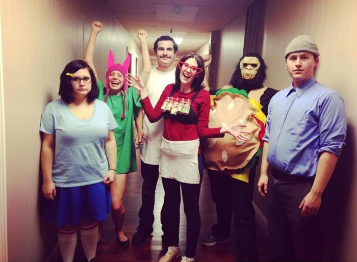 Great Ideas For Amusing Group Halloween Costumes (20 pics)