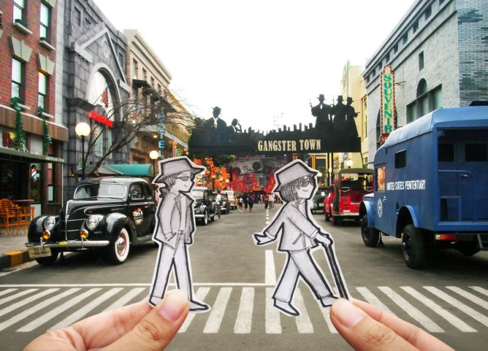 Forget Selfies, Doodles Are The Way To Document A Journey (17 pics)