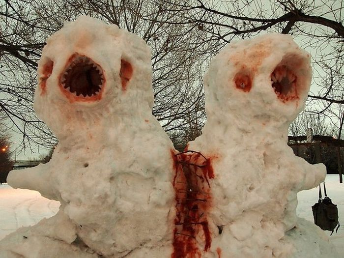 Terrifying Pics That Will Haunt Your Dreams Until The End Of Time (36 pics)