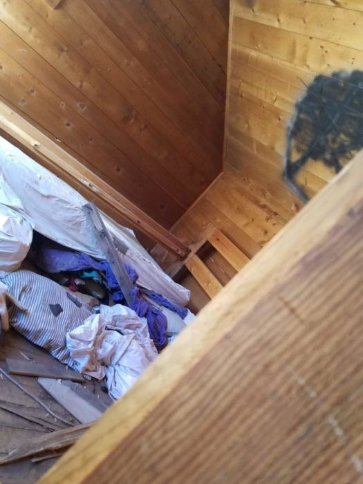 This Guy Found Something Very Disturbing In A Cabin In The Woods (6 pics)