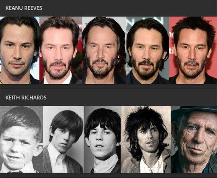 Age Catches Up With Everyone, Even Celebrities (15 pics)