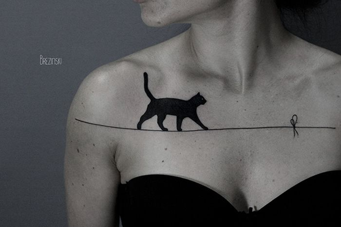 Awesome Tattoo Ideas For All The Cat Lovers Out There (35 pics)