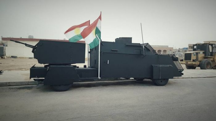 Armored Cars Of The Kurdish Peshmerga Militia (5 pics)