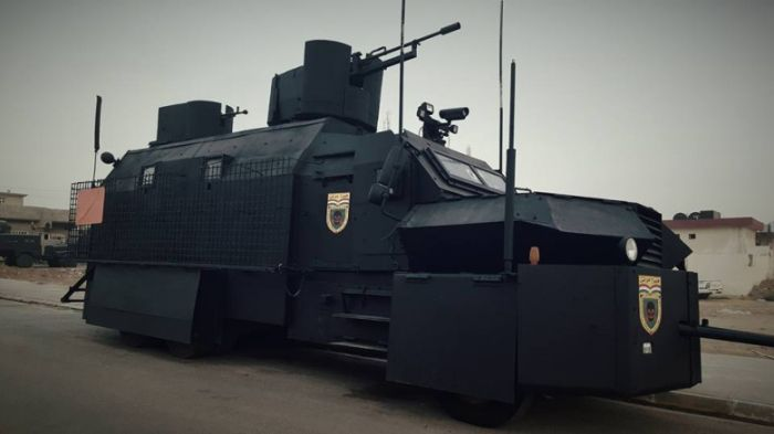 Armored Cars Of The Kurdish Peshmerga Militia (5 pics)