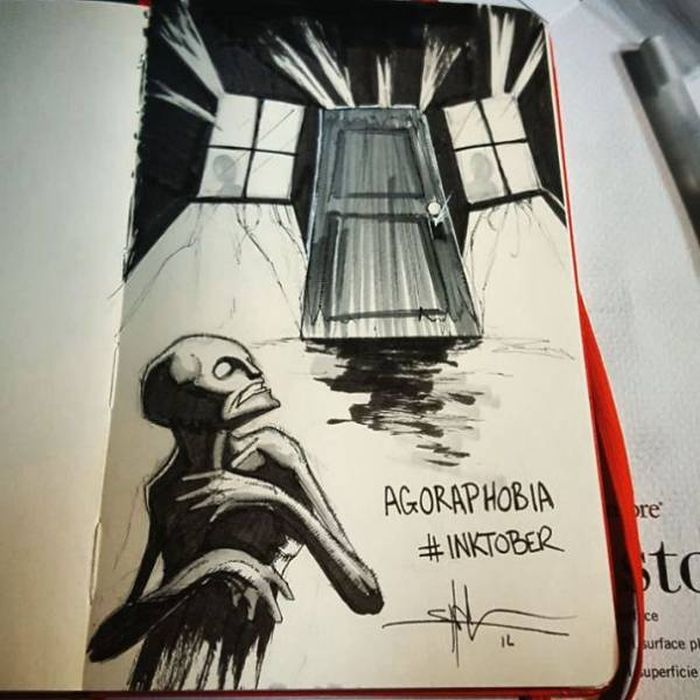 Brilliant Drawings Of Mental Illness And Disorders By Shawn Coss (18 pics)