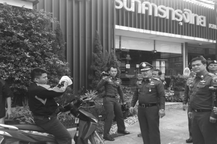 Thailand Bank Robber Gets Busted (6 pics)
