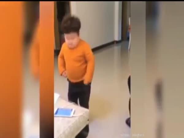 Mini Kim Jong-Un Boy
