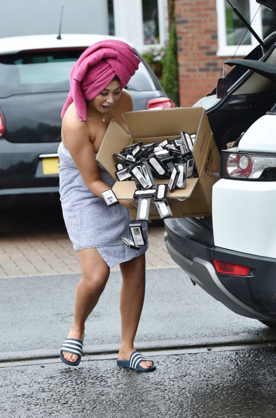 Geordie Shore Star Chloe Ferry Almost Shows Off Everything In Racy Pics (7 pics)
