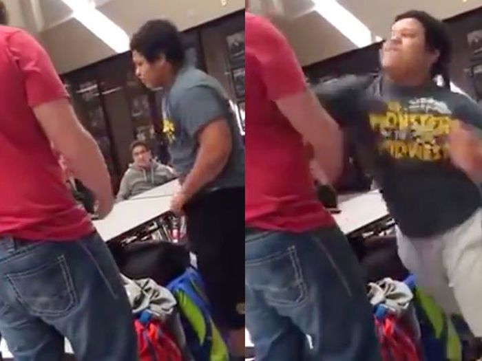 Bullies Who Got Knocked Out When They Least Expected It (15 gifs)