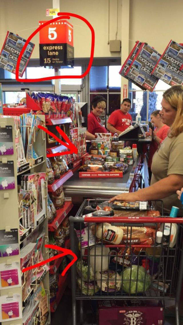 When People Can't Stop Themselves From Behaving Like Real Jerks (28 pics)
