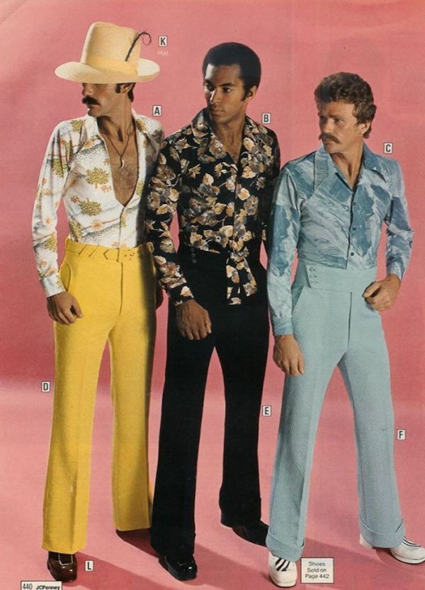 Why 1970s Men's Fashion Should Never Ever Come Back (40 pics)