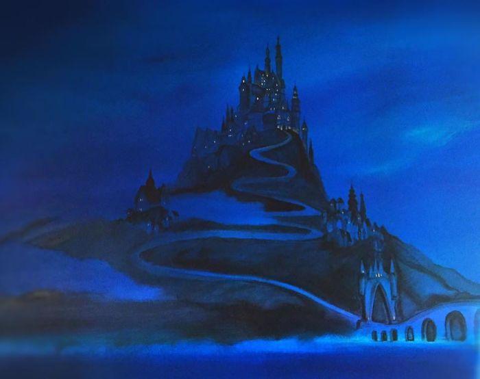 Dad Paints Disney Tangled Mural For His Daughter (10 pics)
