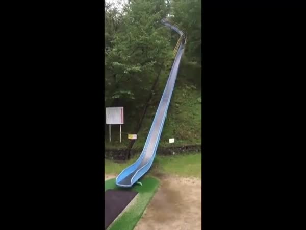 Crazy Japanese Slide