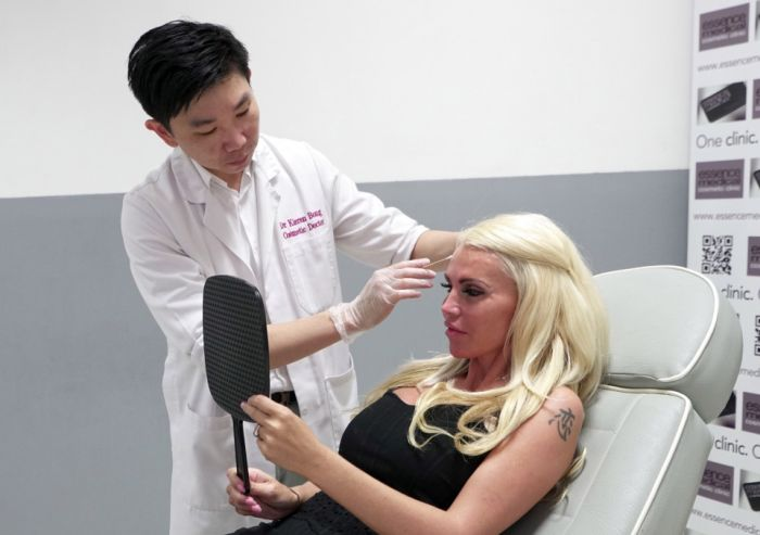 Woman Addicted To Plastic Surgery Says It's Her Goal To Look Plastic (7 pics)