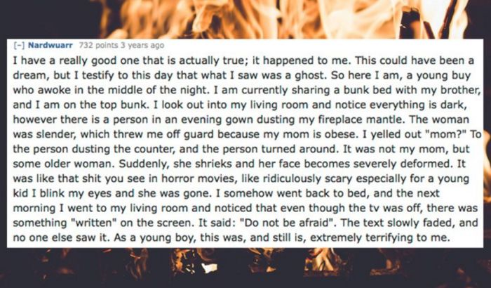People Share Their Scariest Ghost Stories (14 pics)