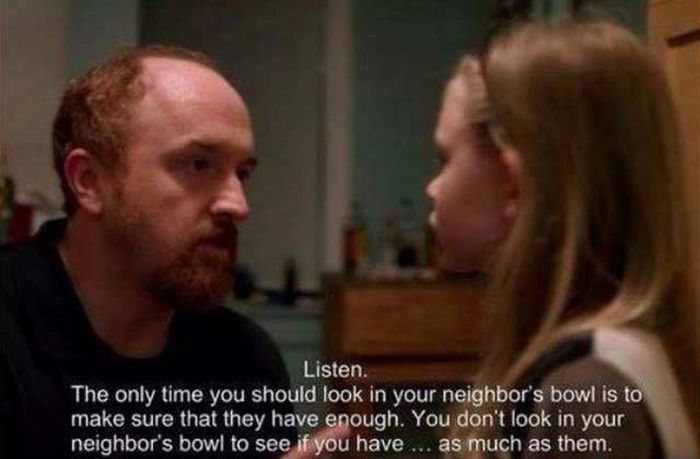Louis CK Teaches Everybody A Valuable Life Lesson (4 pics)