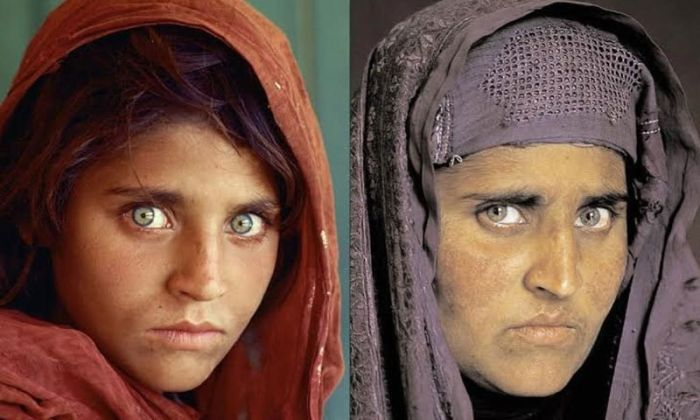 Girl From Iconic National Geographic Cover Arrested (2 pics)