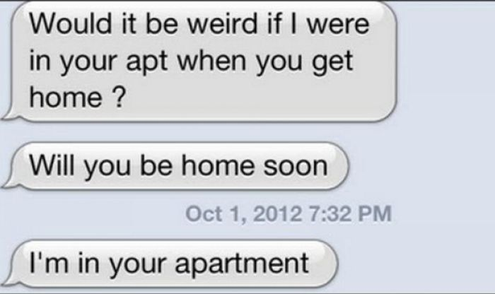 Creepy Messages That'll Make You Think Twice About Giving Out Your Number (12 pics)