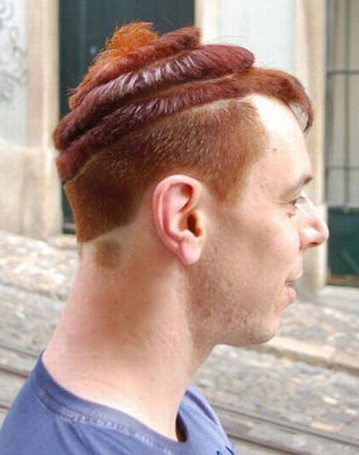 Funny Hairstyles That Are Both Awkward And Awesome (23 pics)