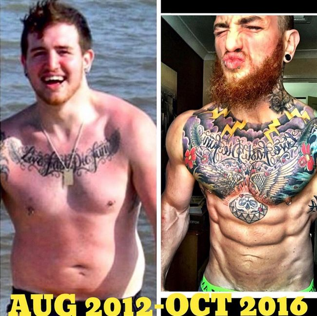 This Guy Lost Weight And Completely Changed His Body (12 pics)
