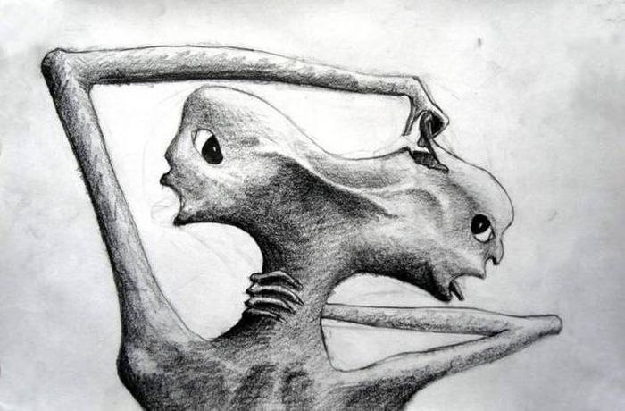 Crazy Drawings Made By People Who Struggle With Schizophrenia (16 pics)