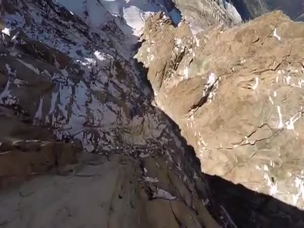 Eric Dossantos Chamonix Wingsuit Tree Line Crash