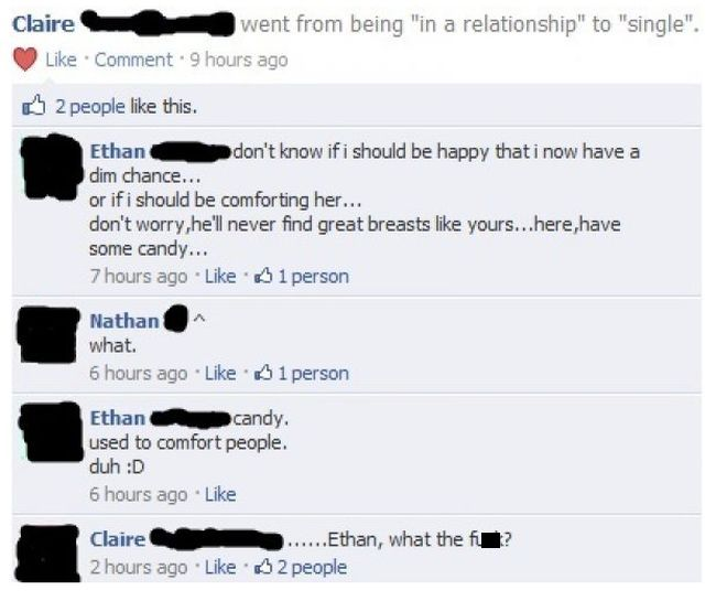 Facebook Posts That Are More Terrifying Than Any Horror Movie (13 pics)