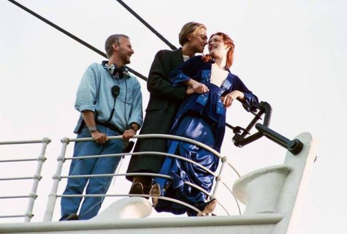 Photos From The Set Of The Iconic Film Titanic (10 pics)