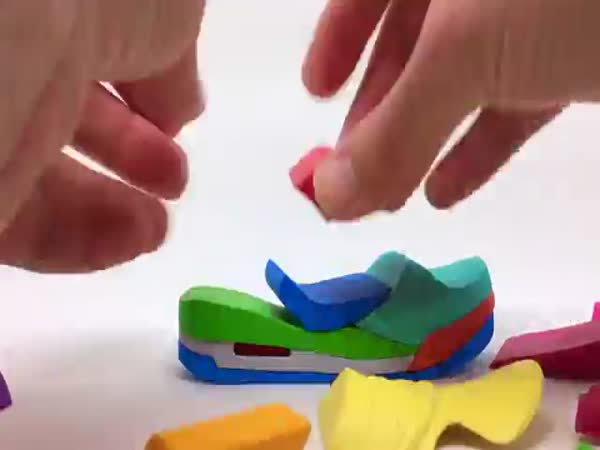 Air Jordan 45 3D Puzzle