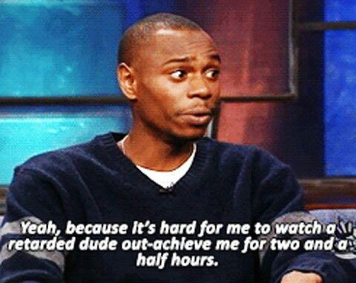 Dave Chappelle Explains Why Forrest Gump Makes Him Mad (8 pics)