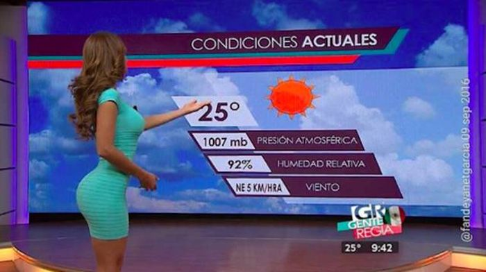 This Reporter Is The Reason You'll Watch Weather Reports In Spanish (33 pics)