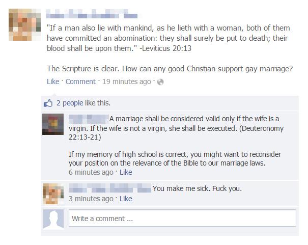 People Who Got Burned By Brutal Facebook Comebacks (30 pics)