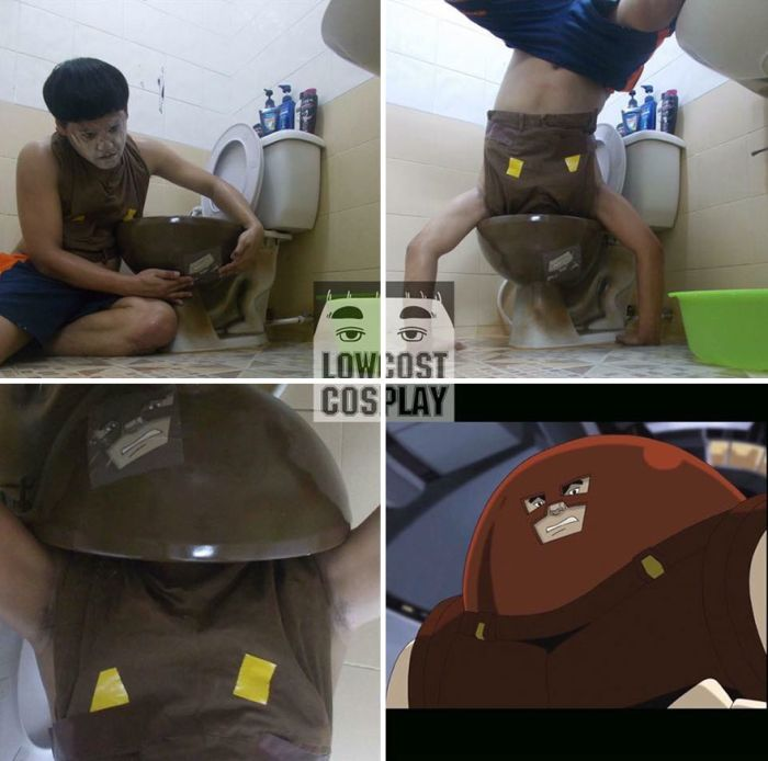 Cheap Cosplay Guy Strikes Again With More Awesome Low Cost Costumes (30 pics)