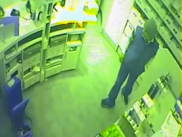 CCTV Of Boxer Turned Robber Foiled As Four Female Boots Workers Batter Him