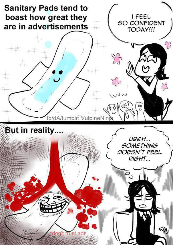 Funny Comics About Periods That Every Woman Can Laugh At (36 pics)