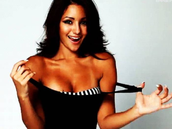 Sexy Gifs Of Hot Girls Taking Their Clothes Off (16 gifs)