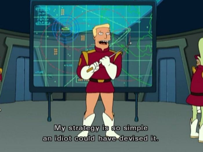 17 Ridiculous Zapp Brannigan Quotes That Will Make You Miss Futurama (17 pics)
