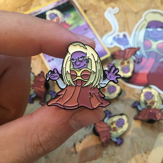 This Etsy Store Sells Awesome Simpsons/Pokemon Mashup Pins (24 pics)