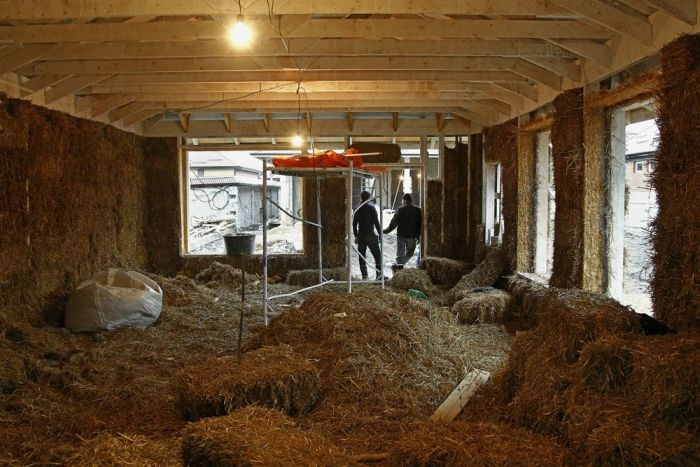Man Builds Excellent House Made Of Straw (14 pics)