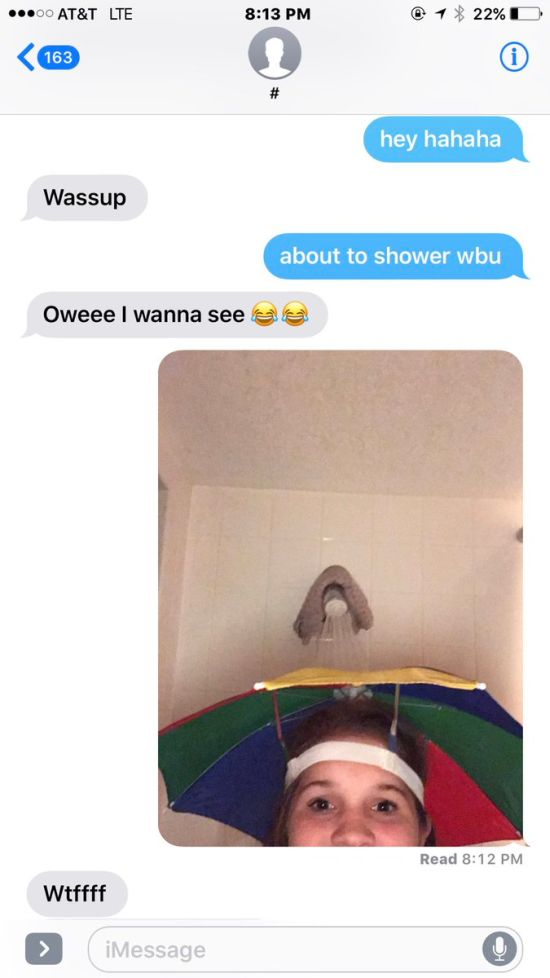 Girl Has A Hilarious Response When She's Asked For Nudes (3 pics)