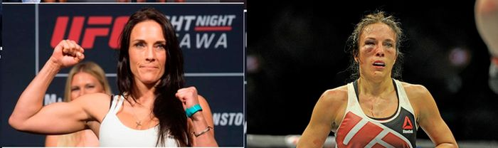 Joanna Jedrzejczyk's Opponents Before And After (6 pics)
