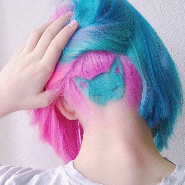 Wild And Crazy Hairdos That Probably Shouldn't Exist (46 pics)
