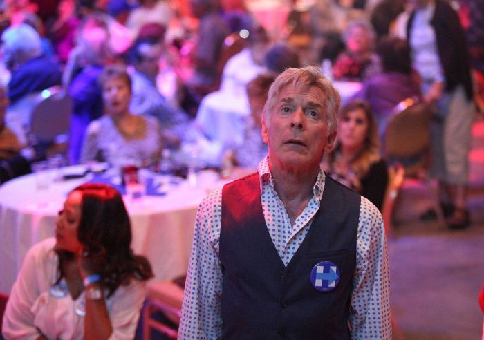 There Were Many Sad Faces At Hillary Clinton HQ On Election Night (9 pics)