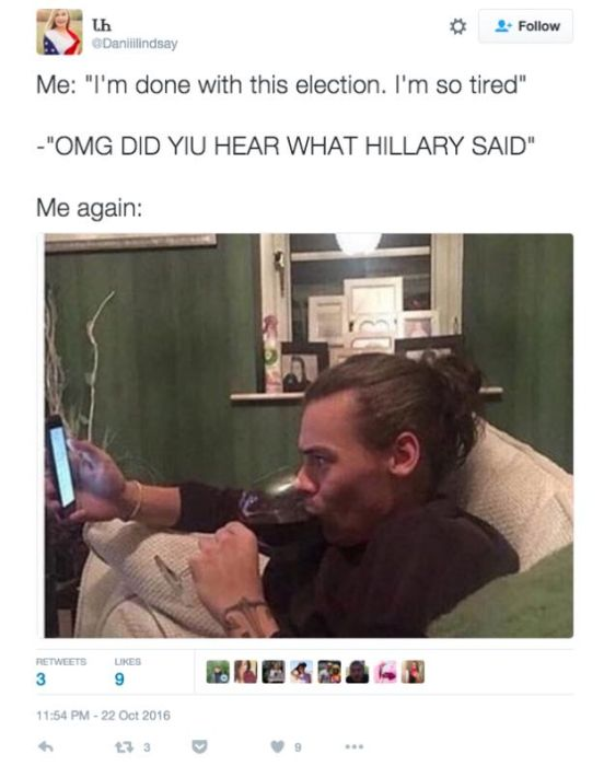 Tweets That Perfectly Summed Up The 2016 Presidential Election (20 pics)