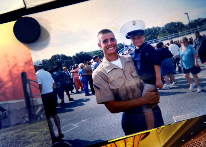 The Story Of This Ex-Marine Proves War Doesn't End On The Battlefield (18 pics)