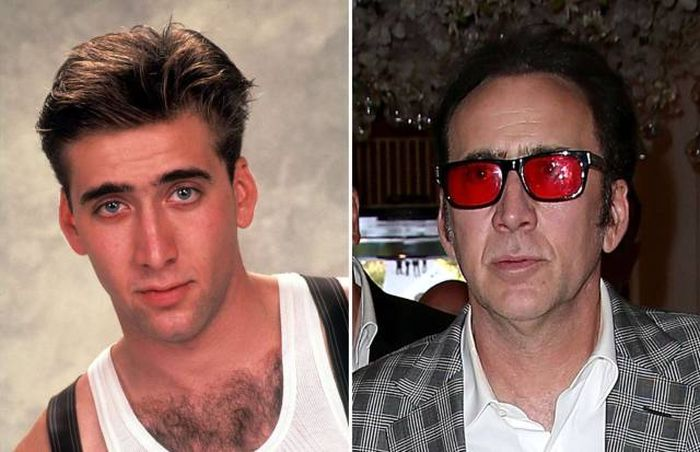 How Your Favorite Stars Looked In The 80s Then Vs Now (60 pics)